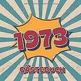 1973 Gästebuch: Retro Style Geburtstags...