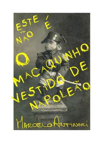 O Macaquinho vestido de Napoleão