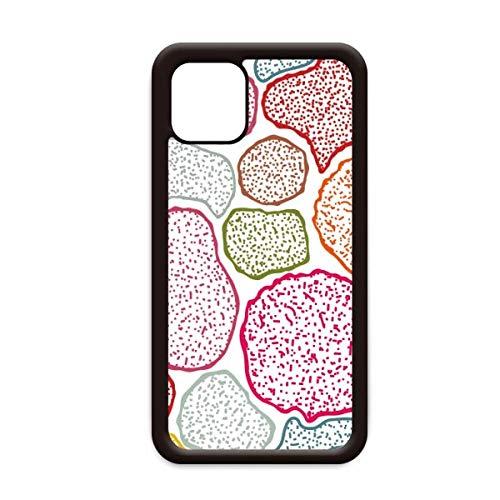 Kleurrijke Microscoop Cellen Structuur Biologisch voor Apple iPhone 11 Pro Max Cover Apple mobiele telefoonhoesje Shell, for iPhone11 Pro