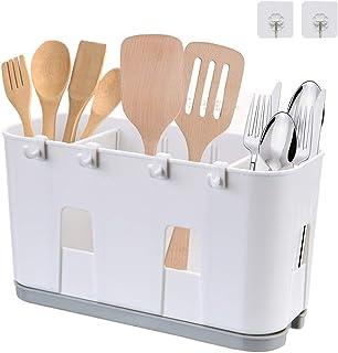Égouttoir pour ustensiles de cuisine, pour couteau et fourchette, cuillère, panier de séchage pour évier