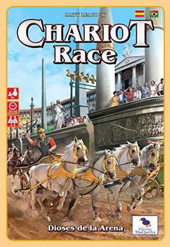 Ediciones MasQueoca - Chariot Race Dioses de la Arena (Español)(Portugués)