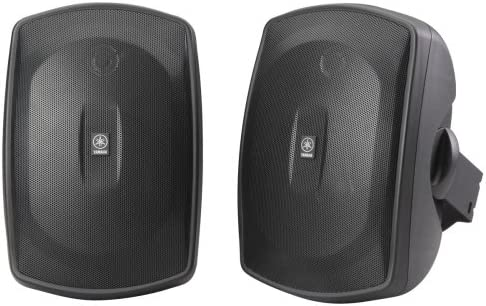 Yamaha NS AW190BL 2 Way Indoor Outdoor Speakers Pair Black product image