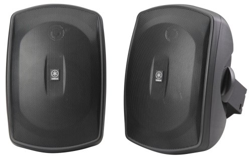 Yamaha NS-AW190BL 2-Way Indoor/Outdoor Speakers (Pair, Black)