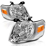 BRYGHT Headlight Assembly Fit for 2006 to 2010 Ford Explorer Driver and Passenger Side