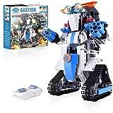 Roboter Kinder 349 Teile Ferngesteuerter per APP und Fernbedienung Technik Bausteine Spielzeug Geschenk ab 7 Jahren für Jungen