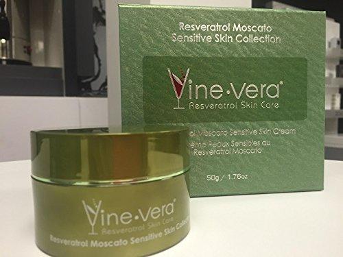 Vine vera Sensitive Skin Cream (Moscato Collection) 50ml