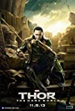 THOR : THE DARK WORLD - LOKI – Imported Movie Wall Poster