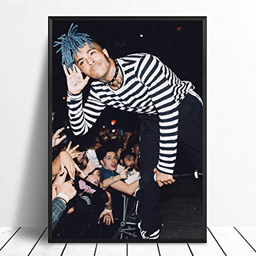 Lazy Wings Xxxtentacion Poster Jahseh Dwayne Wall Poster Celebrity Poster Iron Man Wall Art Marvel Wall Print Wall Decor Home Decor Wall Decor Cristmas Gift (A4 Paper 8.5x11)