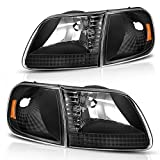 Best Headlights - DWVO Headlight Assembly Compatible with 1997-2003 Ford F-150 Review