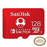 SanDisk 128GB MicroSDXC UHS-I Memory Card for Nintendo Switch -...