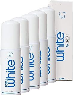 خمیر دندان Micro Foam ، تمیز کردن عمیق دندان ها برای مسواک های الکتریکی التراسونیک 360 درجه مسواک IGIA Total White 60ml Foaming Photocatalyst خمیر دندان (5 بسته)