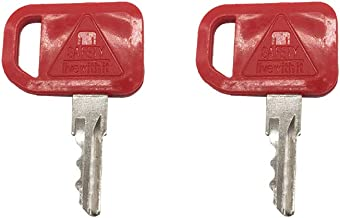 2 Pcs KV13427 T209428 Ignition Key for John Deere CT315 319D 240 250 260