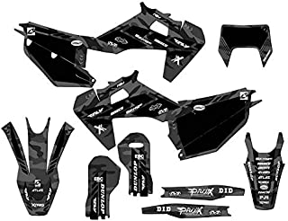 Senge Graphics kit compatible with Husqvarna 2020 FE/TE, Apache MATTE Grey Complete graphics kit.