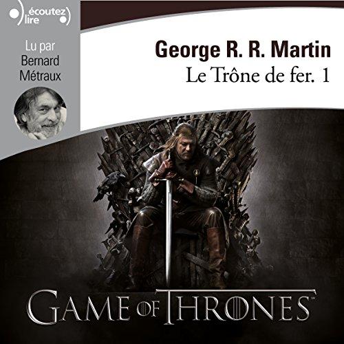 Le Trône de fer audiobook cover art