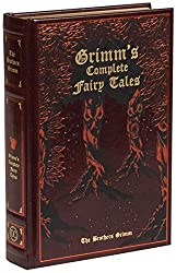 Leatherbound edition of Grimm's fairy tales - forest cover art
