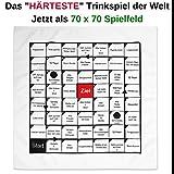 Your Day Mate Polnisches Trinkspiel als Tischdecke, 70 x 70 cm, 54 Spielfelder mit Aufgaben &...