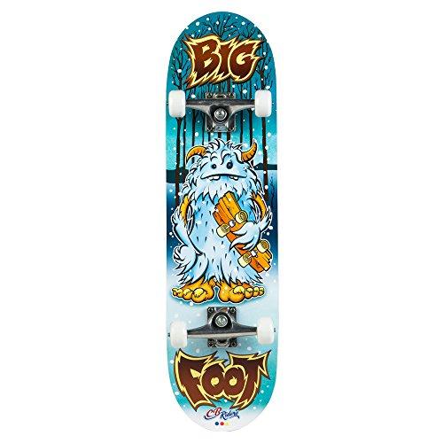 ColorBaby - Monopatín madera 79x20 cm & eje de aluminio Big Foot (85093)