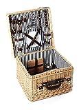 Greenfield Collection Deluxe Clarendon Picknickkorb für 2Personen