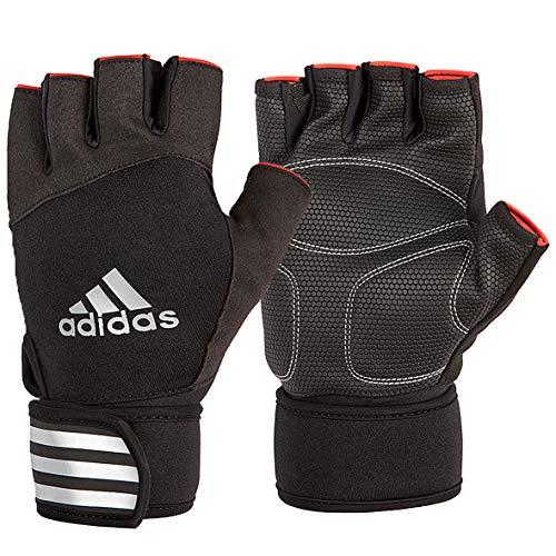 adidas Elite rękawice treningowe - czerwone, M