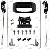 IAMAUTO 69953 Tailgate Hardware & Rebuild Kit Handle,Bezel,Latches,Cables,Rods etc. for 1999-2006 Chevrolet Silverado and GMC Sierra