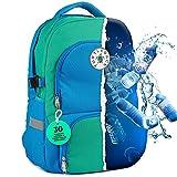 Turtlesack nachhaltiger Schulrucksack | 33L | Kinder Schulrucksack inkl. Laptop- & Kühlfach | ideal für Teenager ab der 5. Klasse | die Alternative zu Schulranzen | für Jungen & Mädchen