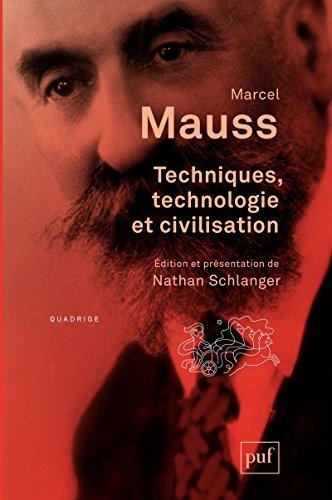 Techniques, technologie et civilisation (Quadrige