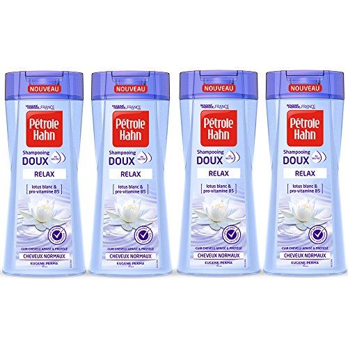 Pétrole Hahn Shampoing Doux Relax au pH Neutre sans Silicone/Paraben Apaise/Protège le...
