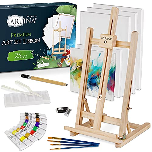 Caballetes De Pintura Niños Marca Artina