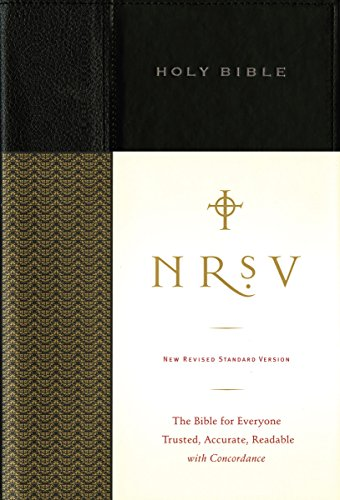 Compare Textbook Prices for NRSV, Standard Bible, Hardcover, Black: The Bible for Everyone: Trusted, Accurate, Readable black Edition ISBN 9780061946516 by Zondervan