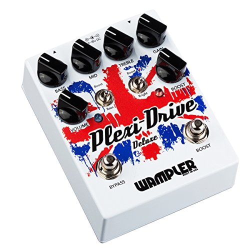 Wampler Plexi-Drive Deluxe V2 Distortion & Overdrive Guitar Effects Pedal