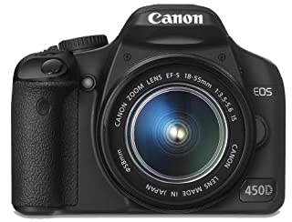 Canon EOS 450D SLR-Digitalkamera (12 MP, LiveView, Kit inkl. EF-S 18-55mm IS Objektiv, bildstabilisiert) (B00131W8IW)   Amazon price tracker / tracking, Amazon price history charts, Amazon price watches, Amazon price drop alerts