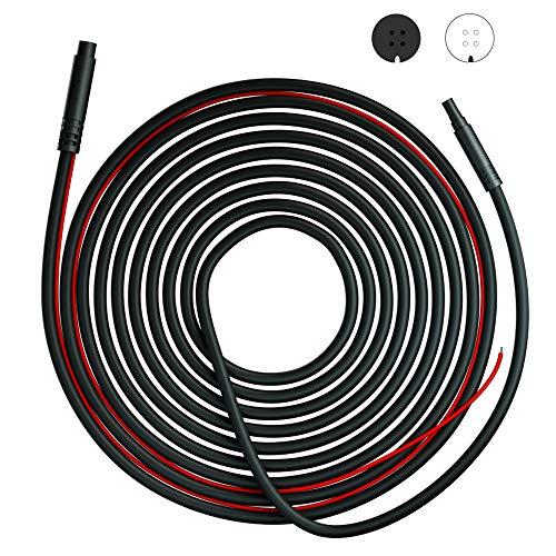 AZDOME Verlängerungskabel 10M 4 Pins für AZDOME PG01/ PG02/ PG17/ GS63H Spiegel Dashcam Rückfahrkamera Rück Auto Recorder Kabel Extention Kabel