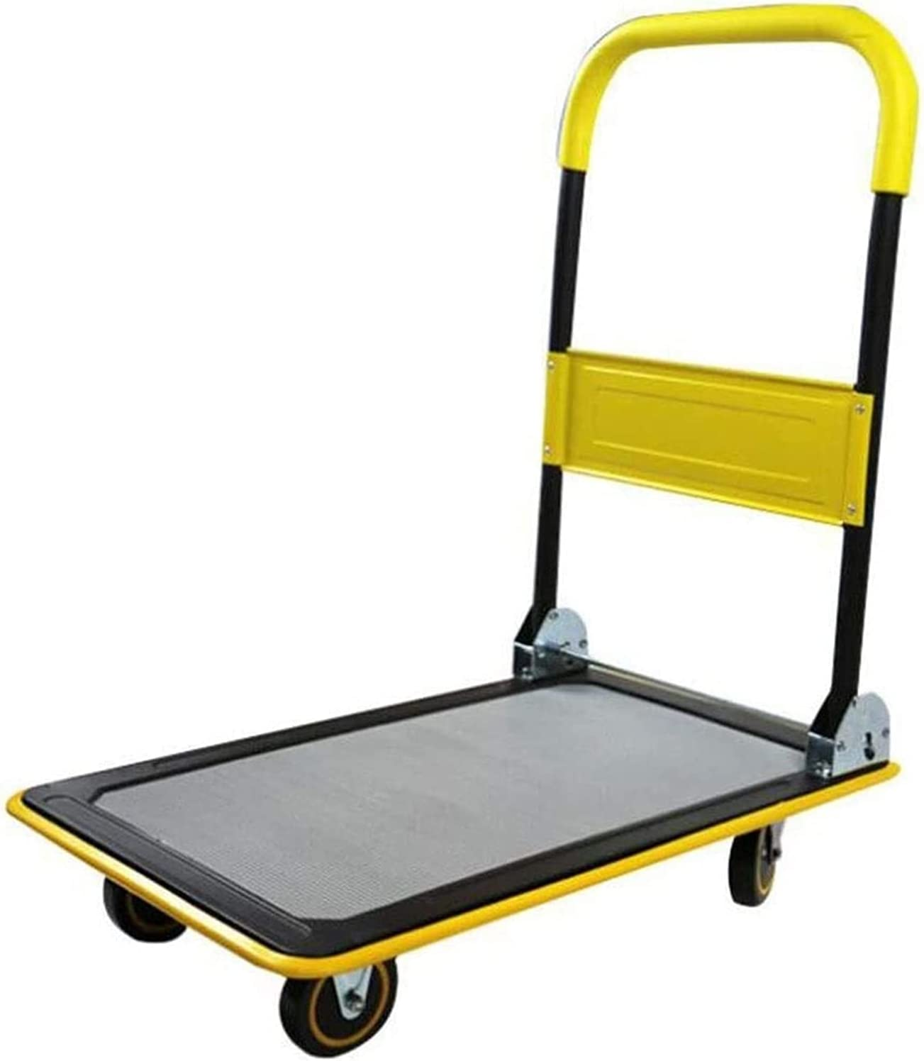 Platform Trolley Folding with A Coated Minivan Non-Slip Latest item H Los Angeles Mall