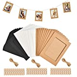 Biglietti portafoto con cornice colore: Bianco 10 pz Creativ Company 10,5 x 15 cm rettangolari