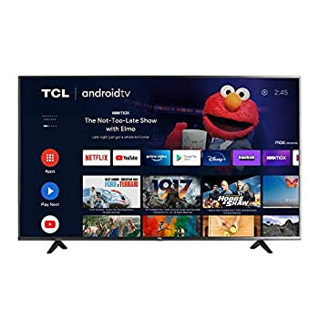 TCL 43-inch Class 4-Series 4K UHD HDR Smart Android TV - 43S434 2021 Model