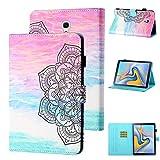 WHWOLF Housse Étui Convient à Samsung Galaxy Tab A 10.5 (2018) Coque (SM-T590 SM-T595) Tablette de...