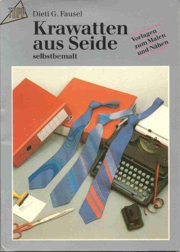 Krawatten aus Seide selbstbemalt. Vorlagen zum Malen und Nähen.