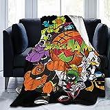 Flannel Fleece Throw Blanket Microfiber Bedspreads Sheets Lightweight Fluffy Fit Bed Sofa Living Room 50'X40'