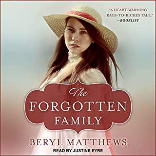 The Forgotten Family                   By:                                                                                                                                 Beryl Matthews                               Narrated by:                                                                                                                                 Justine Eyre                      Length: 9 hrs and 58 mins     5 ratings     Overall 4.8