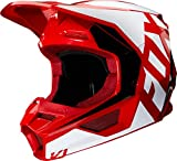 casco fox v1 rojo