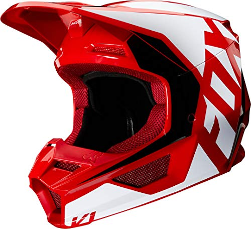 V1 Prix Helmet, Ece Flame Red