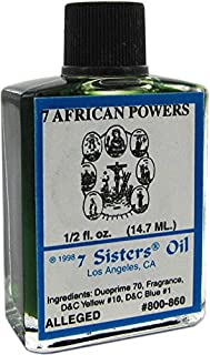 7 Sisters Of New Orleans Perfumed Anointing Oil - SEVEN AFRICAN 1/2oz
