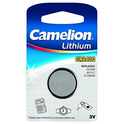 Camelion Knopfzelle 3V, CR 2430 1er Blister Camelion (DL2430 / 5011LC/ E-CR2430