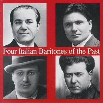 Four Italian Baritones of the Past