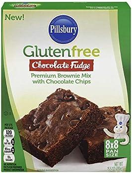 12-Pack Pillsbury Gluten Free Chocolate Fudge Brownie Mix w/Chocolate Chips