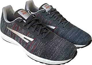 SEGA Men Rush Grey Mesh Casual Sneakers Shoes