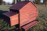 Zooprimus Poulailler en bois pour jardin extérieure cage canard équipé 2 nichoirs 188 x 87 x 113 cm -- 129 Ferme de terrain #1