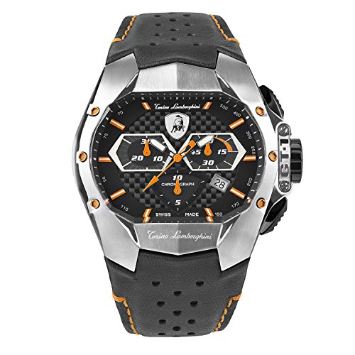 Tonino Lamborghini GT1 Chronograph Watch Steel Orange