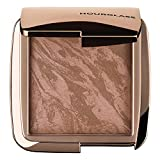 Hourglass Ambient Lighting Bronzer in Luminous Bronze Light. Highlighting Bronzer for a Natural Sun-Kissed Glow. Vegan and Cruelty-Free.