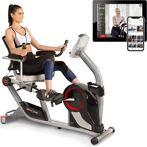 Fitness Reality X-Class 450SL Bluetooth Smart Technology Magnetic Recumbent Exercise Bike with 24 Workout...
